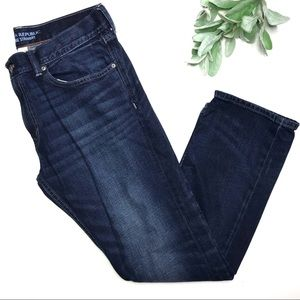 BANANA REPUBLIC | sz 34x30 vintage straight jeans